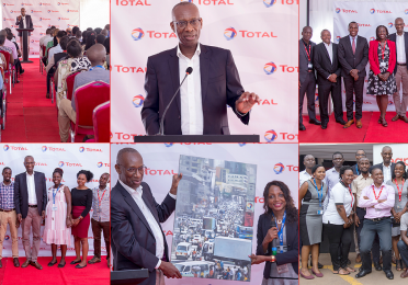 Momar NGUER, President, Marketing & Services and member of the Group Executive Committee visited Total Uganda one day after the group CEO and Chairman, Patrick POUYANNE.