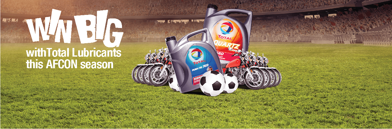 TOTAL AFCON Lubricants Promotion
