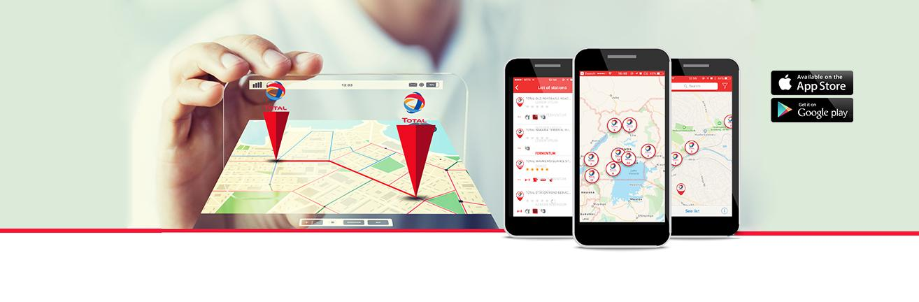 TotalEnergies SERVICES APP  Everything you need to know about Total is at your fingertips.