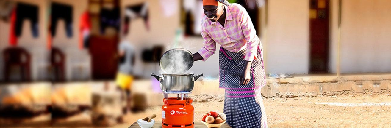 Cooking made easy with Total Gas