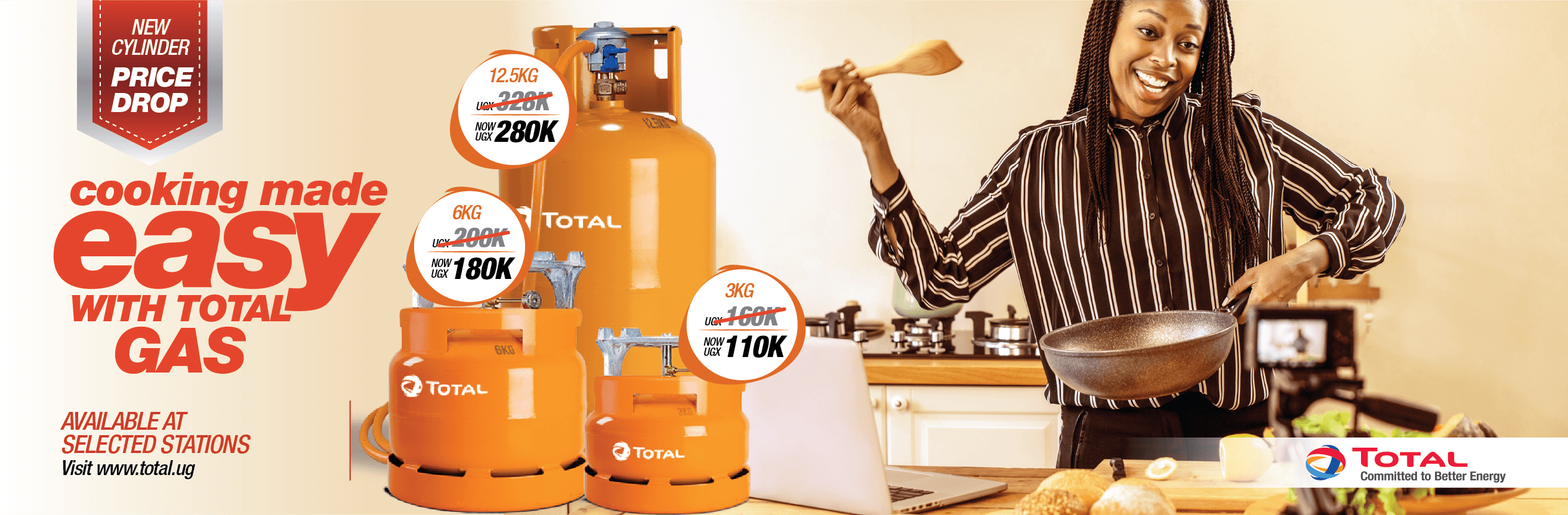 This September 2019 university intake, enjoy the best giveaway offers on Total Gas at University Bazars and selected TotalEnergies Service Stations. This offer is valid from 1st August 2019 till 30th September 2019. Hurry while stock lasts.
